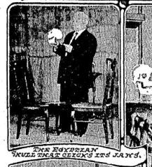 Newspapger clipping of Mystery House