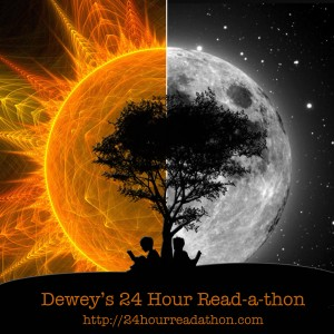 Decorative pic for the 24-hour Readathon.