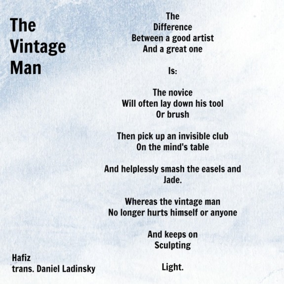 The Vintage Man by Hafiz