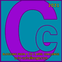 #AtoZChallenge 2021 April Blogging from A to Z Challenge letter C