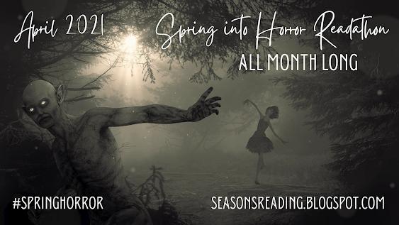 Spring into Horror Readathon banner